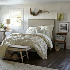 west elm pin tuck duvet