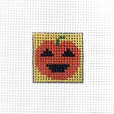 Painted Mini Canvas - Pumpkin (Pre-Order)