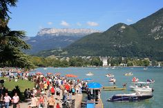 Surrounded by mountains in the French Alps and with its own lake, the resort town of Annecy is a wonderful place for taking summer holidays. There are plenty of activities to get involved in and many attractions to see.