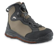 Simms RiverTek Boa Wading Boot - You CAN NOT go wrong with the Boa lacing system...no more yucky, pain in the neck laces!