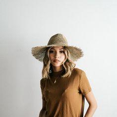 Billie Dark Grey - Tall crown hat – GIGI PIP
