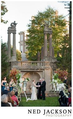the crane estate weddings | Wedding Ceremony in The Crane Estate's Italian Garden