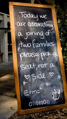 Don't make your guest choose sides! | Offbeat Bride