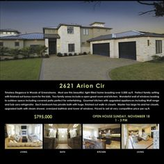 Open House November 18, 2012   2621 Arion Circle | Austin Texas Real Estate Experts Finding Homes For Sale