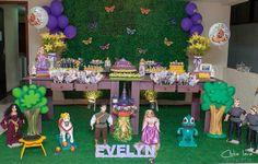 Decoração Enrolados da Disney By Mimos da Vê #Tangled