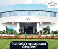 Visit India's most advanced dairy farm in Mumbai. Pride of Cow. they served fresh milk delivery all over Mumbai.