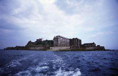 hashima island abandoned 5 The Abandoned Island of Hashima Photos) Hashima Island, See Picture, Abandoned Places, Japan Travel, New York Skyline, Castle, Explore, City, World