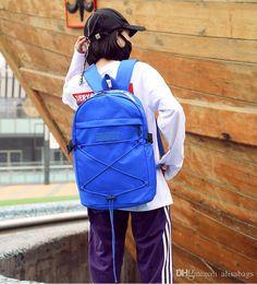 098bab47a449 Fashion Brand Designer Backpack Double Shoulder Bag Luxury Outdoor  Traveling Letter Printed Schoolbags For Women Students Backpacks Waterproof  Backpack Kids ...