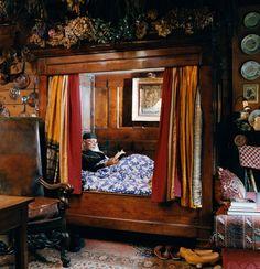 Cozy nook beds a nordic tradition alcove bed, bed nook, creative beds, tiny Alcove Bed, Bed Nook, Bedroom Nook, Bedroom Decor, Cosy Bed, Cozy Nook, Creative Beds, Ideas Habitaciones, Sleeping Nook