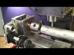 4th axis heavy duty DIY CNC build