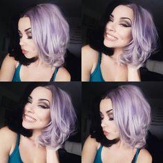 More lavender hair!