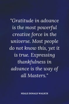 How to Give Gratitude in Advance to Manifest the Life of Your Dreams