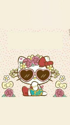 Hello Kitty Art, Hello Kitty Themes, Hello Kitty My Melody, Hello Kitty Pictures, Sanrio Hello Kitty, Hello Kitty Backgrounds, Hello Kitty Wallpaper, Kawaii Cute Wallpapers, Nausicaa