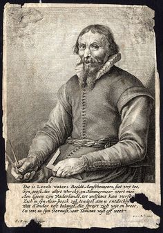 Antique Print Jan Adriaanszoon Leeghwater Portrait Keijser Savery 1654   eBay