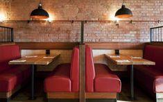 | 10 ideas para para decorar restaurantes con bancos corridos
