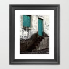 Entrance Framed Art Print by Inourgardentoo - $35.00