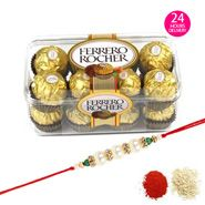 Ferrero Rocher 200gms with Same Day Rakhi Delivery