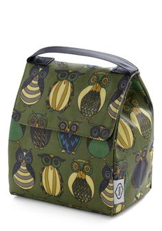 Owl the Better Lunch Bag