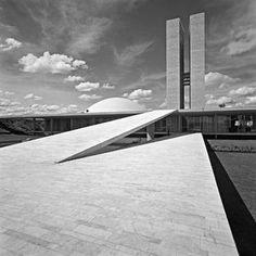 MARCEL GAUTHEROT National Congress, Brasília, DF. Brazil (circa 1960).
