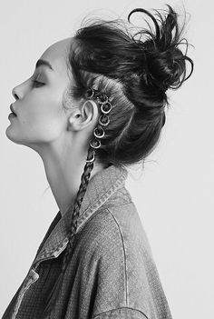 Rock 'n' Roll Style ✯ Luma Grothe for Free People, Dec 2014.