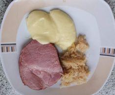 Variation von Kasseler mit Sauerkraut und Kartoffelpüree