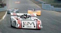 particular sight …Jackie Stewart, Haas Racing L&M Lola-Chevrolet ...