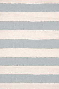 #DashAndAlbert Catamaran Stripe Light Blue/Ivory Indoor/Outdoor Rug 6x9 $319
