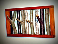 Rustic Tree Branch Coat Rack by on Etsy, Cool Stuff, Rustic Wood, Wood Pieces, Rustic House, Walnut Stain, Tree Branches, Dream Decor, Rustic Trees, Coat Rack