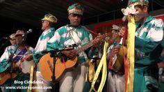 Folia de Reis do Paulinho Charrete - Biquinha - Valença RJ. 43º Encontro de Folia de Reis em Valença - RJ. AGFORV - Associação de Grupos de Folias de Reis de Valença.