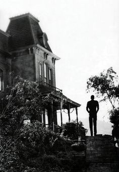 Anthony Perkins in Psycho, 1960.