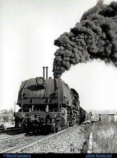 Locomotiva a vapor.