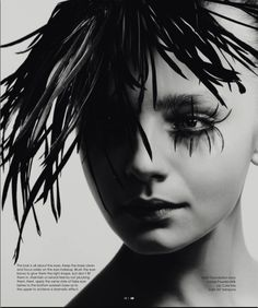fake eye lashes | black and white