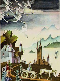 Viktor Pivovarov fairy tale - Google Search