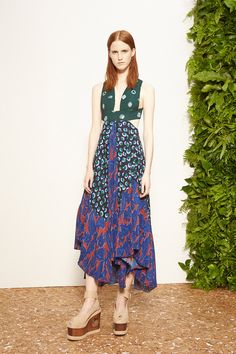 Stella McCartney Resort 2015… I love the play on colors and prints. Super Cute!