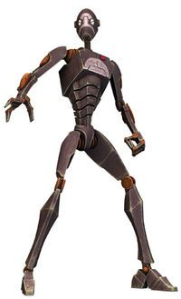 a red commando droid Droides Star Wars, Star Wars Facts, Star Wars Droids, Star Wars Characters Pictures, Star Wars Images, Star Wars Commando, Edge Of The Empire, Star Wars Concept Art, Battle Droid