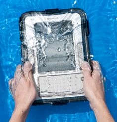 Take your Kindle to the beach. Read by the pool. Use your Kindle in the hot tub or bath tub, too. A Waterproof Kindle Cover will protect your...