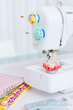 Alfiletero móvil para tu máquina de coser - Guía de MANUALIDADES