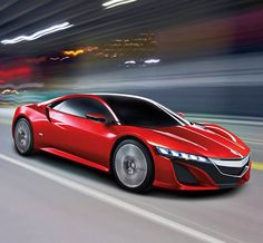 Check out the 2016 Acura NSX, scheduled to roll out of Acura's Performance Manufacturing Center in Marysville, Ohio late this year. This stunning supercar is bigger, sexier and packed with all the juicy technology you'd expect from a car with this much hype to live up to.