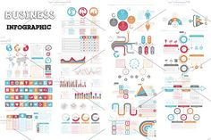 @newkoko2020 Business Infographic by Infographic Paradise on @creativemarket #infographic #infographics #bundle #download #design #template #set #presentation #vector #buy #graph #discount