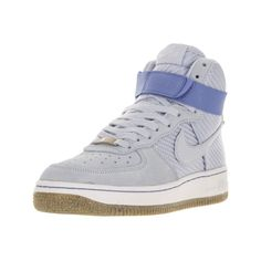 Nike Women's Air Force 1 Hi Prm Porpoise Basketball Shoe (Porpoise/Gum  Light Brown/Summit White/Porpoise, B(M) US) (Porpoise/Gum Light Brown/Summit  ...