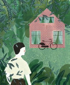 a bit as it used to be - GREENHOUSE prints & illustrations by Lotte Dirks