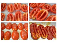 Receita de tomate seco caseiro Veggie Recipes Healthy, Raw Food Recipes, Cooking Recipes, Food L, Good Food, Yummy Food, Portuguese Recipes, My Favorite Food, Food Hacks