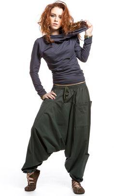 Зелёные шаровары с шестью карманами алладины, этническая одежда, индийская одежда, ethno clouthes, alladin pants 1680 рублей