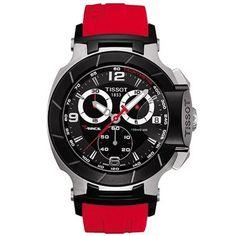 T048.417.27.057.01 Tissot T-Race Black Dial Mens Watch #reloj #watch