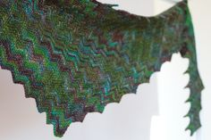 "Shawlette Pattern ""Baltic Summer"" by Martina Behm"