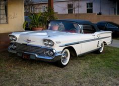 1958 Chevrolet Impala Convertible...Brought to you by Eugene #CarInsurance and #HouseofInsurance.