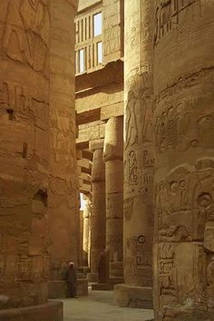 The Temple Complex of Karnak 2055 BC in Luxor, Egypt. #Egypt #Travel #Tours…