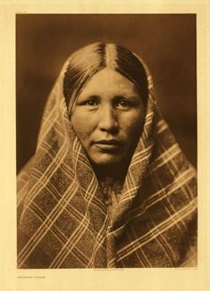 American Indians : Nespilim Woman.