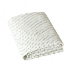 Fitted cot sheet - pin dot moss - manchester - furniture + decor