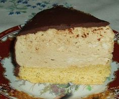 Торт «Птичье молоко» с манной крупой
